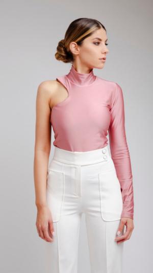 Pink Turtleneck 2