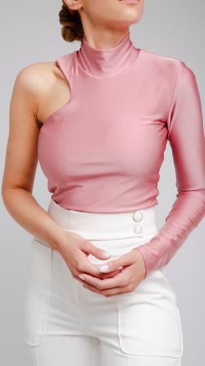 Pink Turtleneck 1