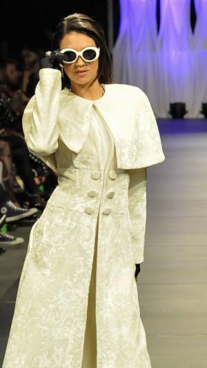 White Plush Coat 2