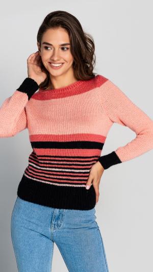 Women's Wool Stripe Sweater 1