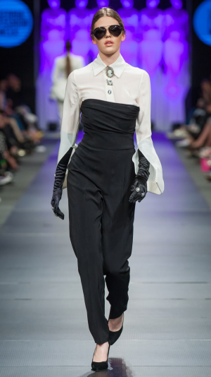 Black New Era jumpsuit