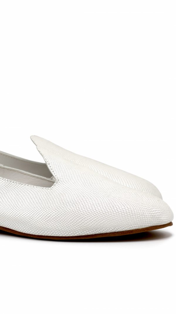 La Babouche Loafer Slip-On - Pearl 1