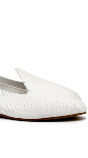 La Babouche Loafer Slip-On - Pearl 1