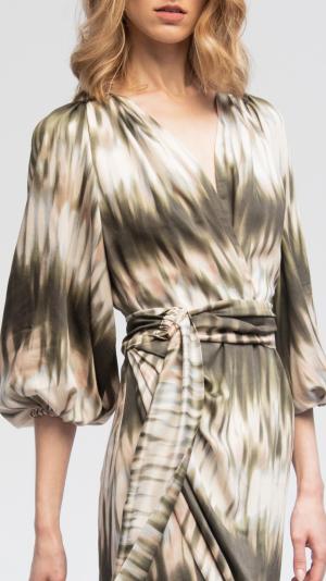 Batik Summer Viscose Dress 2