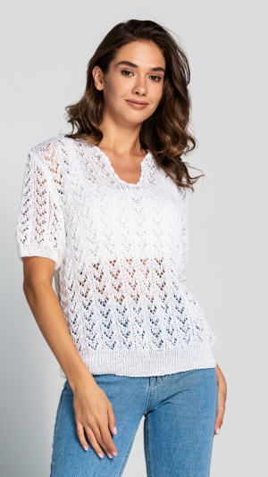 Women's 2 piece knitted top 1