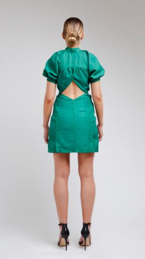 Green Short Dress 2