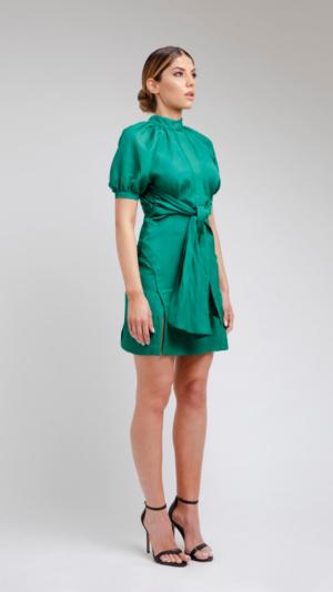 Green Short Dress 1