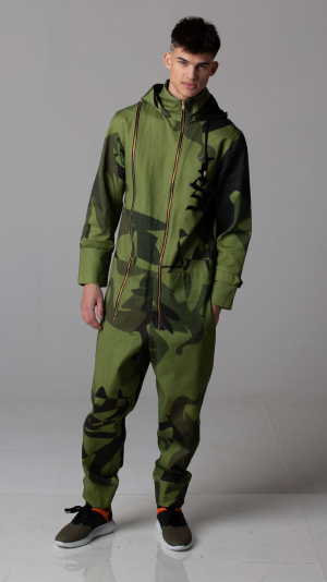Claus Jumpsuit and (camouflage) 2