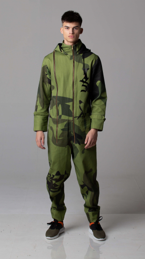 Claus Jumpsuit and (camouflage) 1