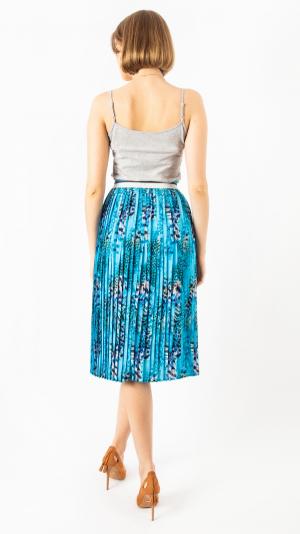 Pleated Skirt Blue Lionfish 2