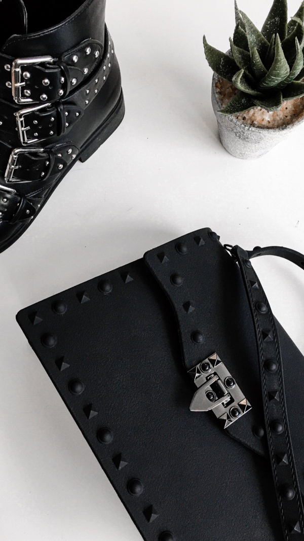 Rebel Rich Bag - Matte Black 1
