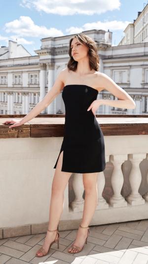 Eva Black Dress 1