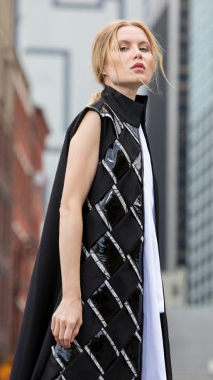Long fashion vest coat 2