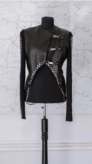 Woman's leather jacket 1