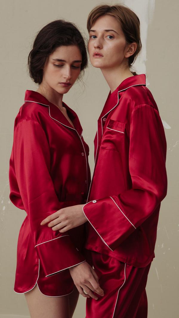 women_classic_silk_pajamas_set_3_piece_3