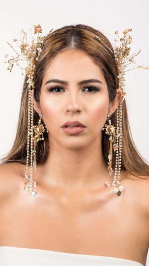 Bridal Gold Jewellery & Earrings 1