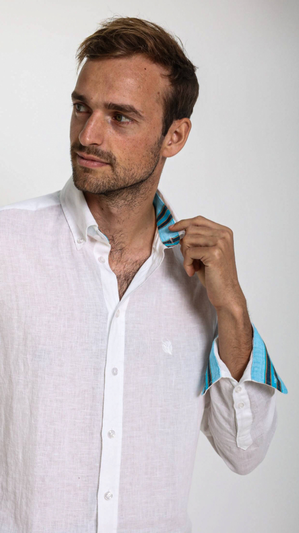 white_linen_shirt_with_african_fabric_trim_4
