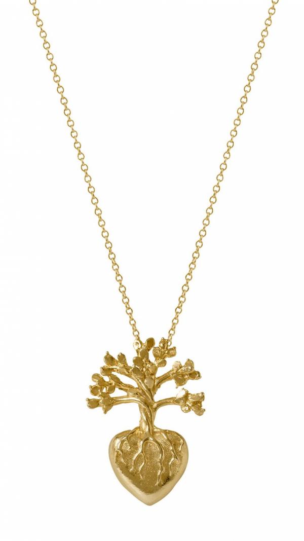 Frida Heart Necklace Large 1