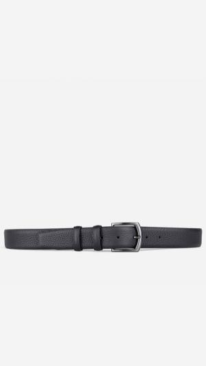 Classic Pebble Belt Black - Laurent 2