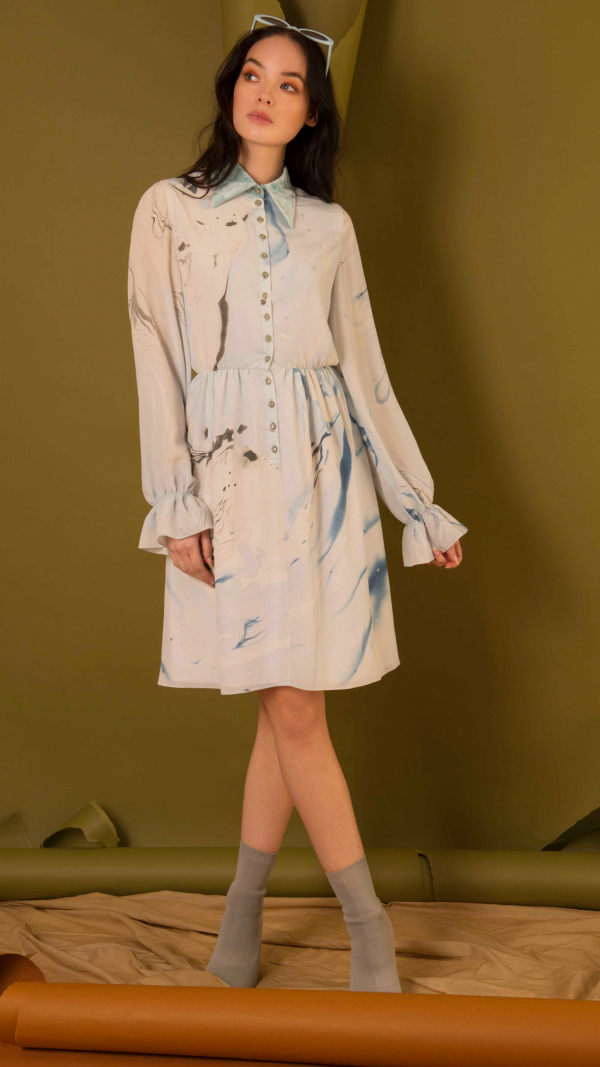 hand_marbled_silk_button_up_dress_blue_grey_4