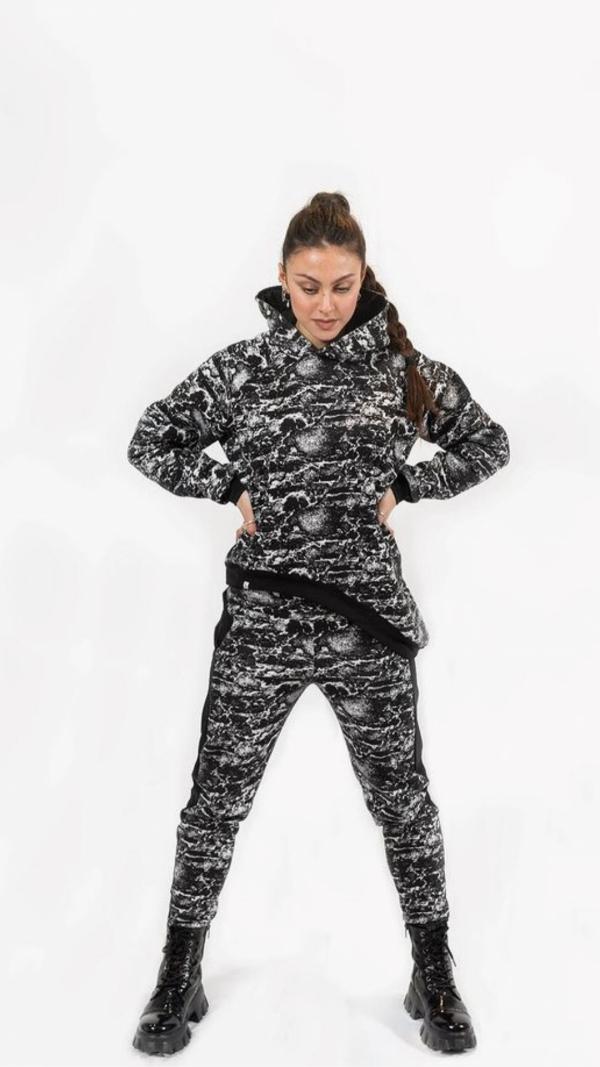 Black-white Sweatpants 2
