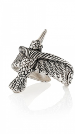 Ring Hummingbird Silver 1