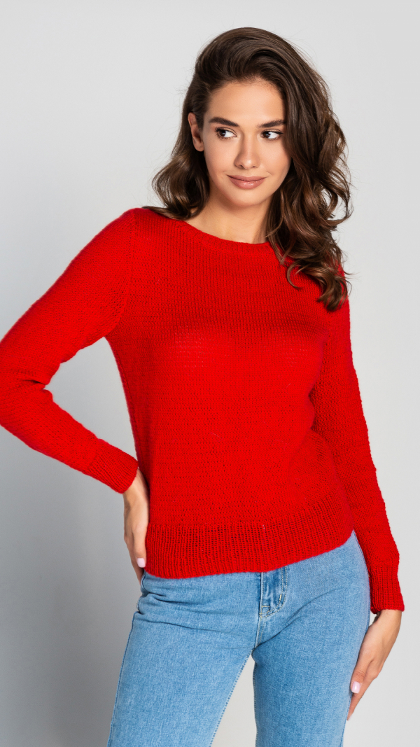 red_wool_womens_warm_sweater_hand_knitted_pullover_0