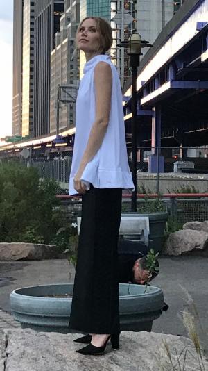 Black long pants 1