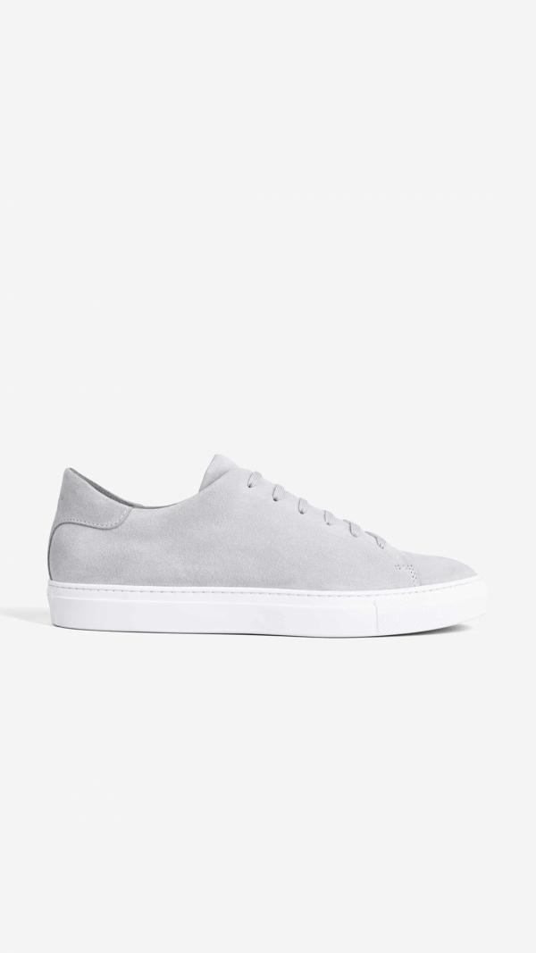 Suede Sneakers Grey - Norberto 1