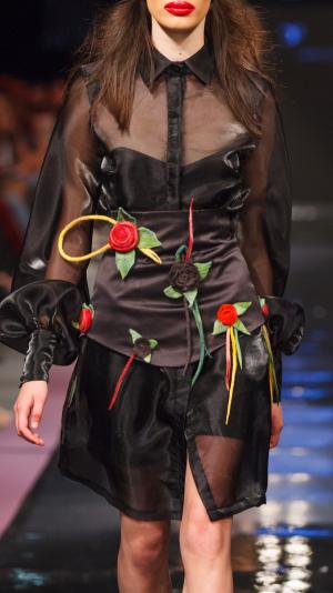 Corsette Belt with Floral Details 2