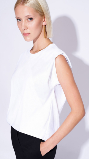 T-Shirt ROSARIA white 2
