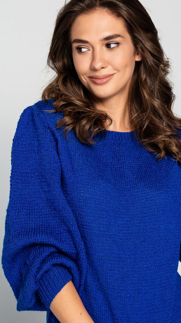 womens_warm_puff_sleeve_blue_wool_sweater_2