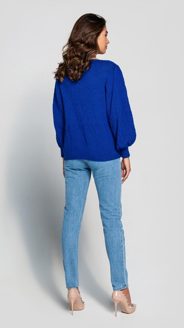 womens_warm_puff_sleeve_blue_wool_sweater_4
