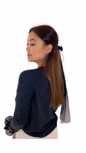 Charlotte hair bow clip 2