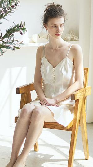 Silk Slip Dress 2