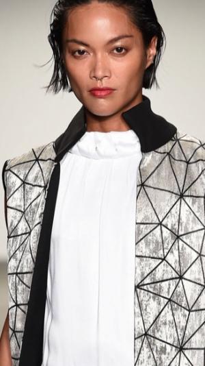 Long unique vest coat 2
