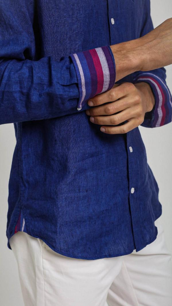 navy_linen_shirt_with_african_fabric_trim_4