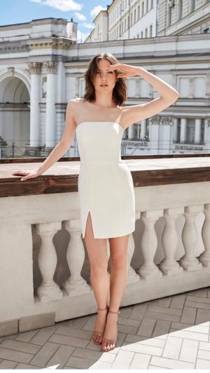 Eva White Dress 1