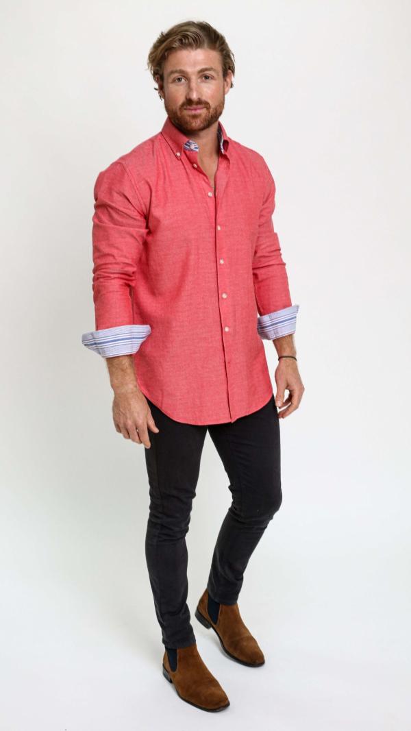 coral_red_cotton_kikoy_shirt_2