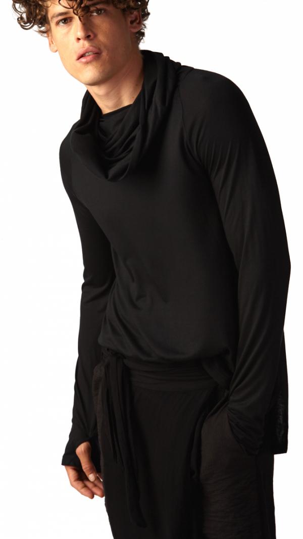 Echape Long Sleeve - Black 2