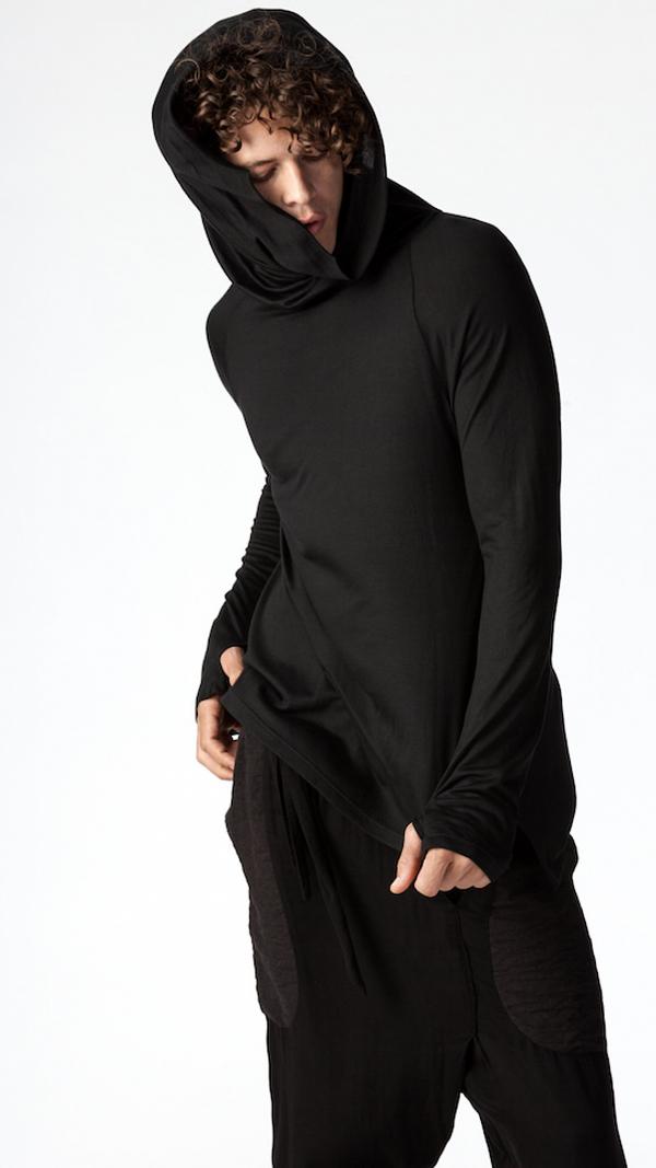 Echape Long Sleeve - Black 1