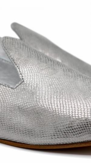 La Babouche Loafer Slip-on - Gray 2