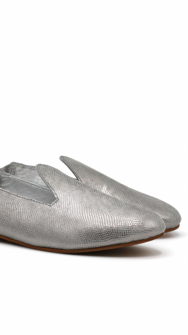 La Babouche Loafer Slip-on - Gray 1