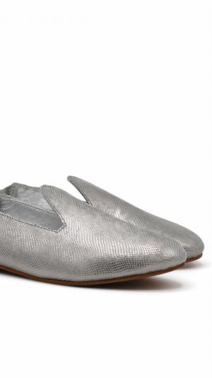 La Babouche Loafer Slip-on - Gray 1