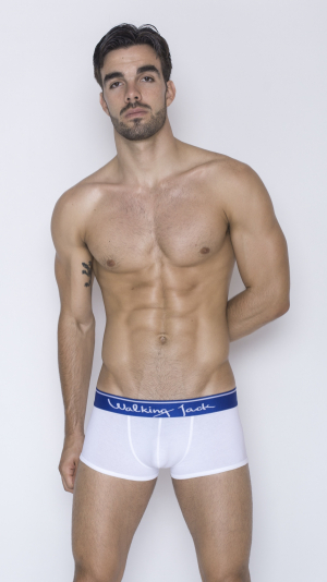 Core Trunks - White with blue 2
