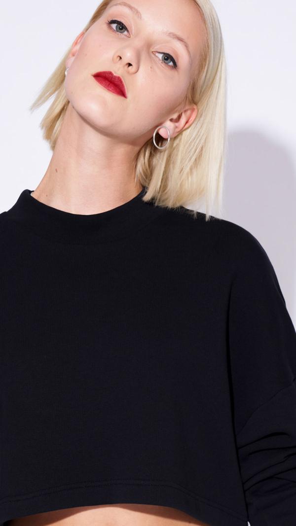 Sweatshirt MARIANGELA black 2