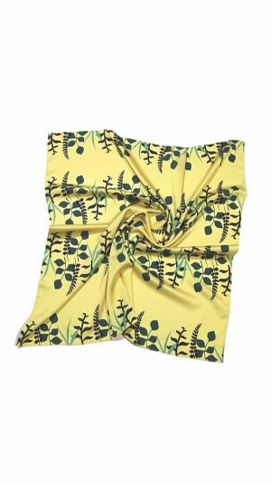 Women's Printed Scarf Hair Accessories Neckerchief 1