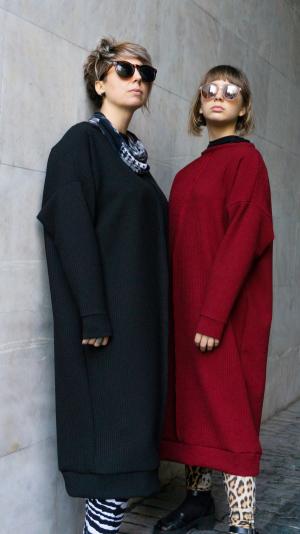oversize sweatshirt / dress 2