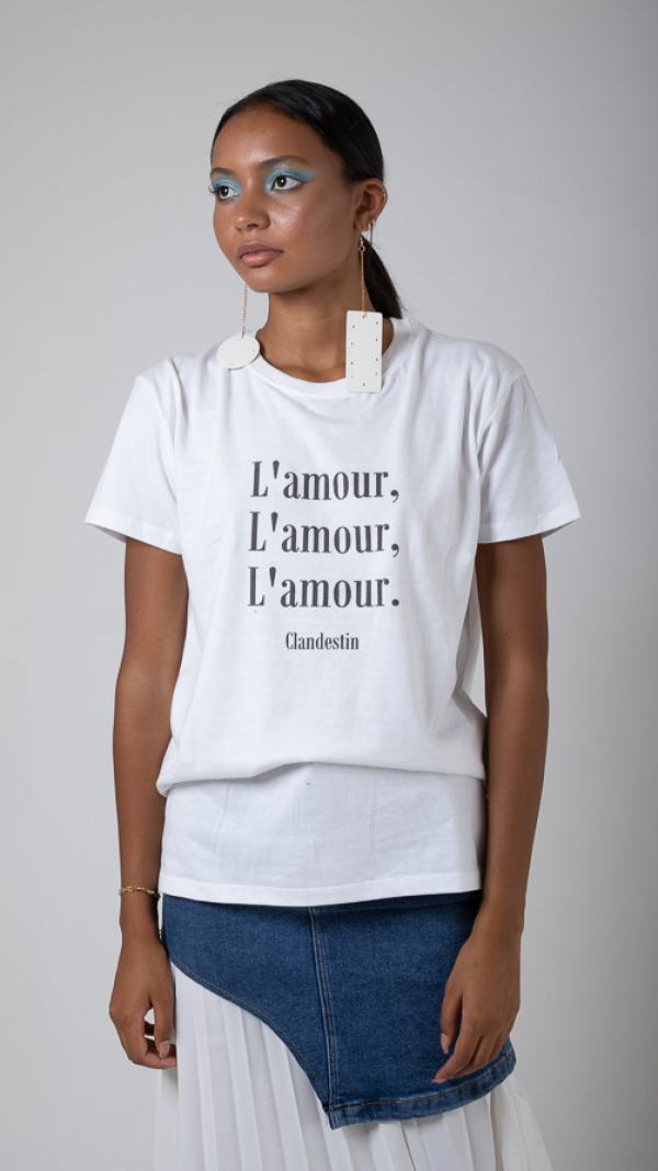 Tee-shirt Amour Black Edition 2