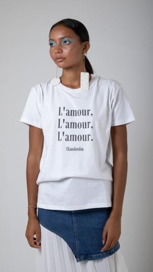 Tee-shirt Amour Black Edition 2
